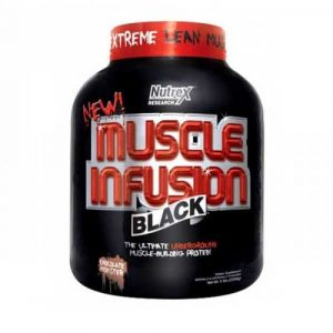 Nutrex Muscle Infusion black whey protein powder
