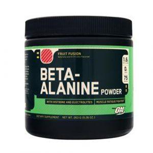 Optimum beta alanine powder
