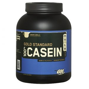 Optimum nutrition casein protein powder