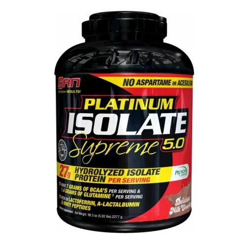 SAN Platinum Isolate Supreme Protein powder