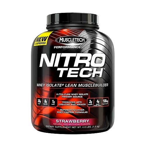 Muscletech Nitrotech whey protein