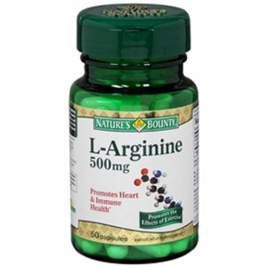 Natures Bounty L-arginine 500mg