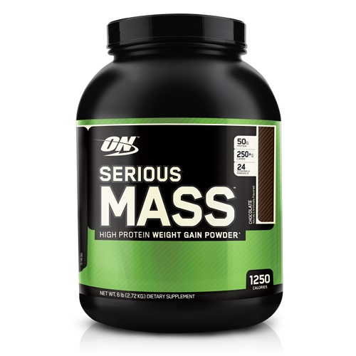 ON serious mass gainer 6lbs