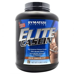 Dymatize elite casein protein powder chocolate 5lbs