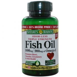 Nature's Bounty Fish oil 1400 mg