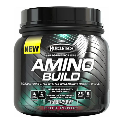 Muscletech amino build powder