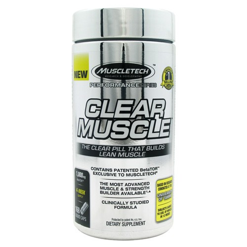 MuscleTech clear muscle capsules supplement