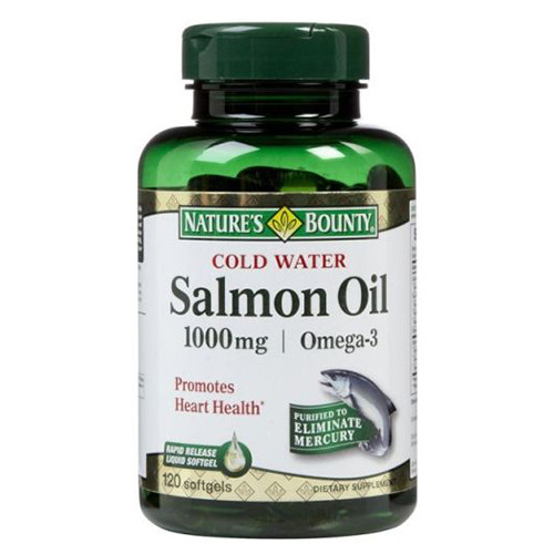 Nature's Bounty Salmon oil India