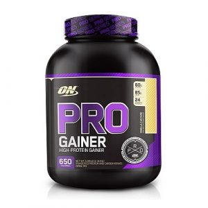 Optimum nutrition pro gainer protein powder