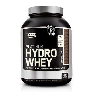 Optimum nutrition hydrowhey protein powder