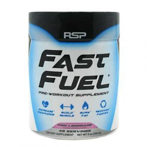 RSP Nutrition Fast Fuel Pre Workout Powder