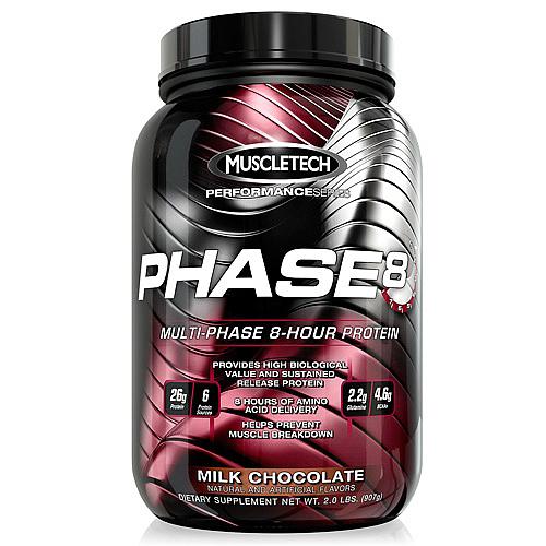 Muscletech Phase 8 2lb protein powder