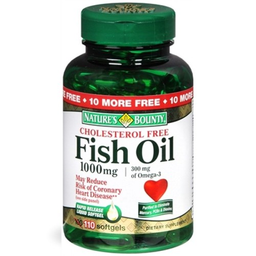 Nature's Bounty Fish oil 1000mg