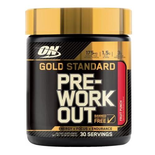 Optimum nutrition pre workout powder