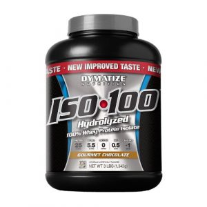 Dymatize ISO 100 isolate protein powder 3lbs
