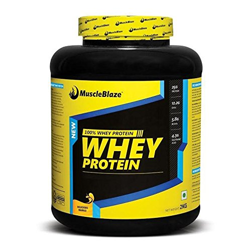 Muscleblaze whey protein isolate powder 4.4 lbs