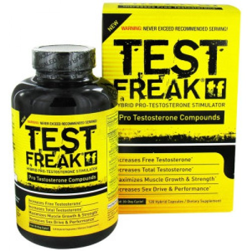 PharmaFreak TEST Freak 120 Capsules in India