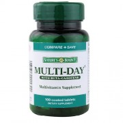 Nature's Bounty Multi-Day Multivitamin Supplement 100 Coated Tablets in India