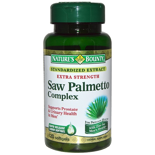 Natures Bounty Saw Palmetto