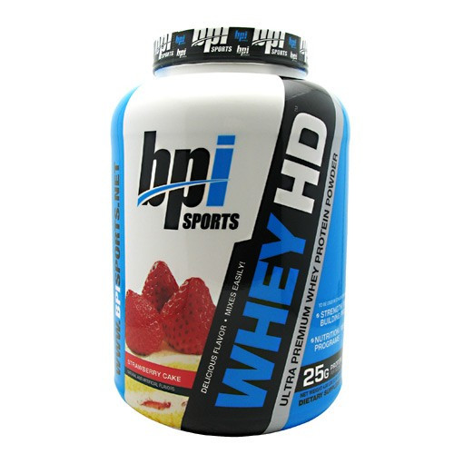 BPI Sports Whey-Hd Ultra Premium Protein