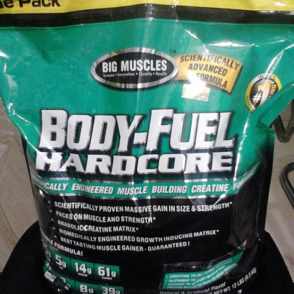 Big Muscles Body Fuel Hardcore - 12 lbs