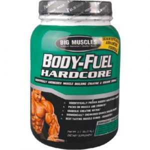 Big Muscle Body Fuel Hardcore 2.2 Lbs