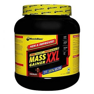 MuscleBlaze Mass Gainer XXL Chocolate 2.2 lb