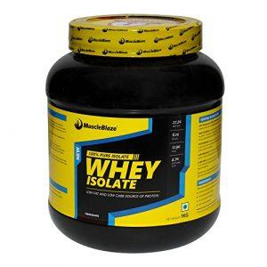 MuscleBlaze Whey Isolate 1Kg