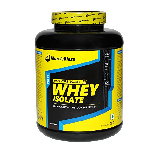 MuscleBlaze Whey Isolate 2kg Chocolate