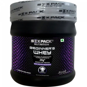 Six Pack Nutrition Beginner's Whey Choco Delight 320gm