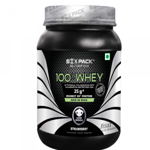 Six Pack Nutrition 100% Whey 1 Kg