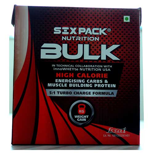 SixPack Nutrition Bulk Gain Choc Fixx 4 Kg