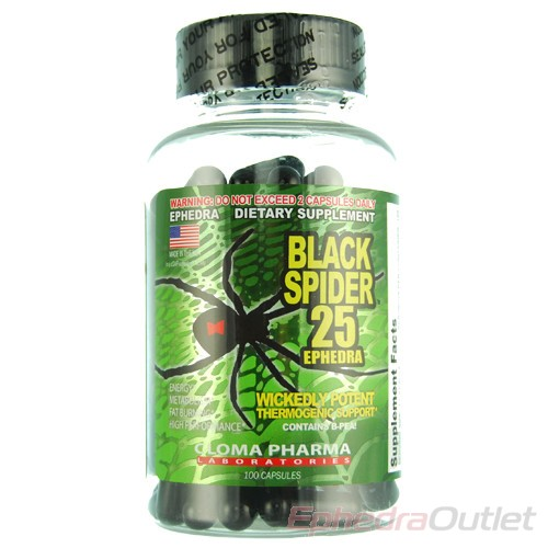 Black Spider Fat Burner India