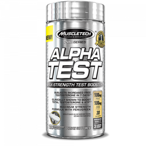 Muscletech Alpha test